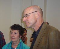 Michael Pollan and WRR Chair Gwynne Morgan